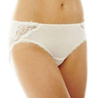 THE BODY Elle Macpherson Intimates Modal and Lace Hipster Panties, Silvr Peony
