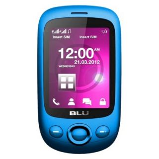 BLU Spark TV S131T Unlocked GSM Dual SIM Cell Phone   Blue