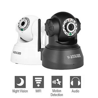 Wanscam   Wireless IP Surveillance Camera with Angle Control (Motion Detection, Night Vision, Free DDNS)