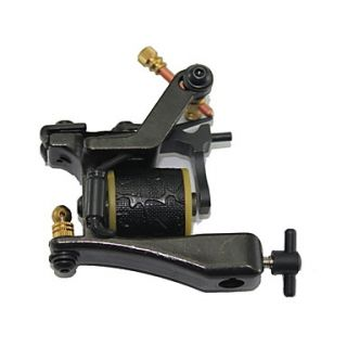 Top Quality Cast Iron 10 wrap Coil Tattoo Machine Shader
