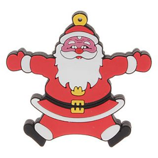 4GB Christmas Santa Clause 3 USB 2.0 Flash Drive