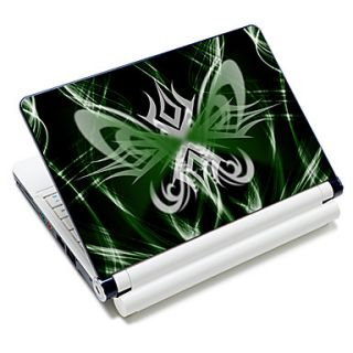Butterfly Shaped Pattern Laptop Notebook Cover Protective Skin Sticker For 10/15 Laptop 18679