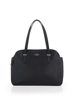 Kate Spade New York Cedar Elissa Satchel   Black