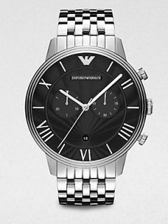 Emporio Armani Two Eye Chronograph Watch   Stainless Steel
