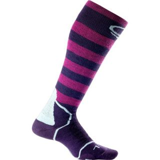 Icebreaker Snowboard Plus Socks   Midweight  Over the Calf (For Women)   LOTUS/TEARDROP/MAGENTA (M )