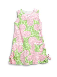 Lilly Pulitzer Kids Toddlers & Little Girls Limeade Classic Shift Dress   Pink