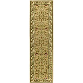 Lyndhurst Collection Majestic Beige/ Ivory Runner (23 X 12)