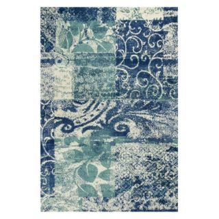 KAS Rugs Allure 4062 Artisan Area Rug   Blue / Green   ALU406277X1010, 7.58 x