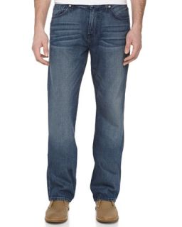 Austyn Relaxed Straight Leg Jeans, King City Indigo