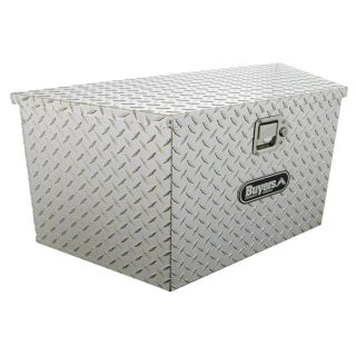 Buyers Trailer Tongue Aluminum Tool Box Multicolor   1701385