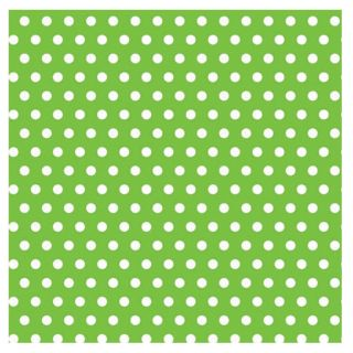 Kiwi with Polka Dots Jumbo Gift Wrap