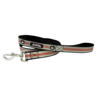 Miami Marlins Reflective Baseball Leash   S