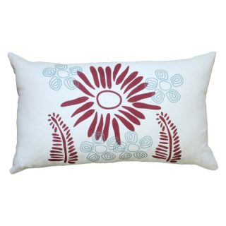 Balanced Design Hand Printed Fern Linen Pillow   LFER4